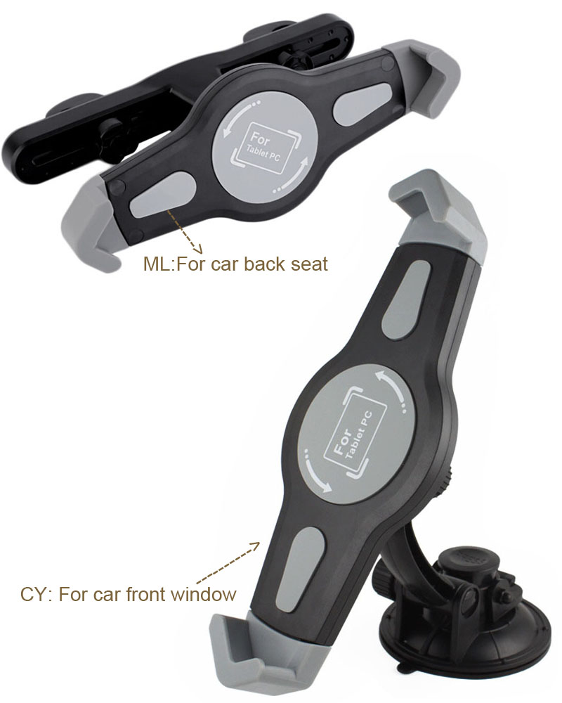 Rotary Window Suction Car Back Seat Headrest font b Tablet b font GPS font b Holders