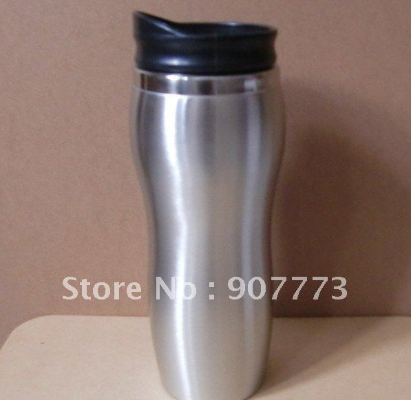 14OZ 400ml 5pcs/set Stainless Steel Coffee Mug/Camp Cup
