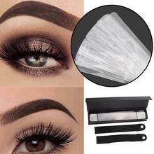 Hot Sale  Eyebrow Shaping Stencil Tool Card Template Assisted Device Easy Makeup Beauty girl Mold Cosmetic Accessories CW30