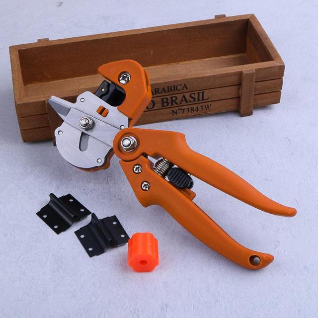 Garden Tree Pro Pruning Shears Scissors Grafting Cutting Tool + 2 Blade Garden Tools Set Pruner Tree Cutting Tool