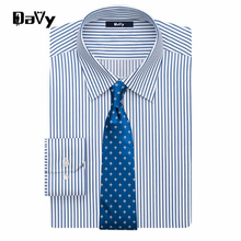 Davy Customized Personal Design Men Casual Shirt Long Sleeve Dress Shirt Casual Social Man Shirt Made by tailor camisa masculina