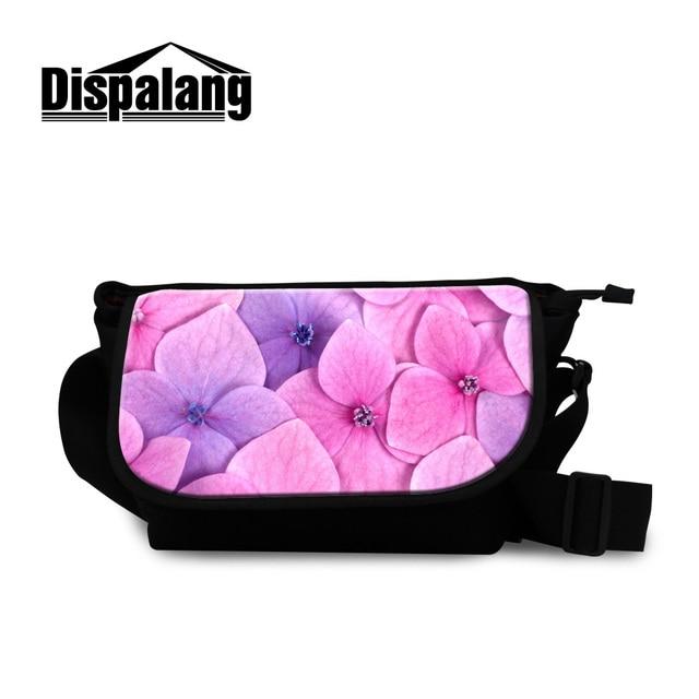 691c44ab0385 Dispalang women stylish travel messenger shoulder bags pink floral satchel  for girls canvas school crossbody hand bag wholesale