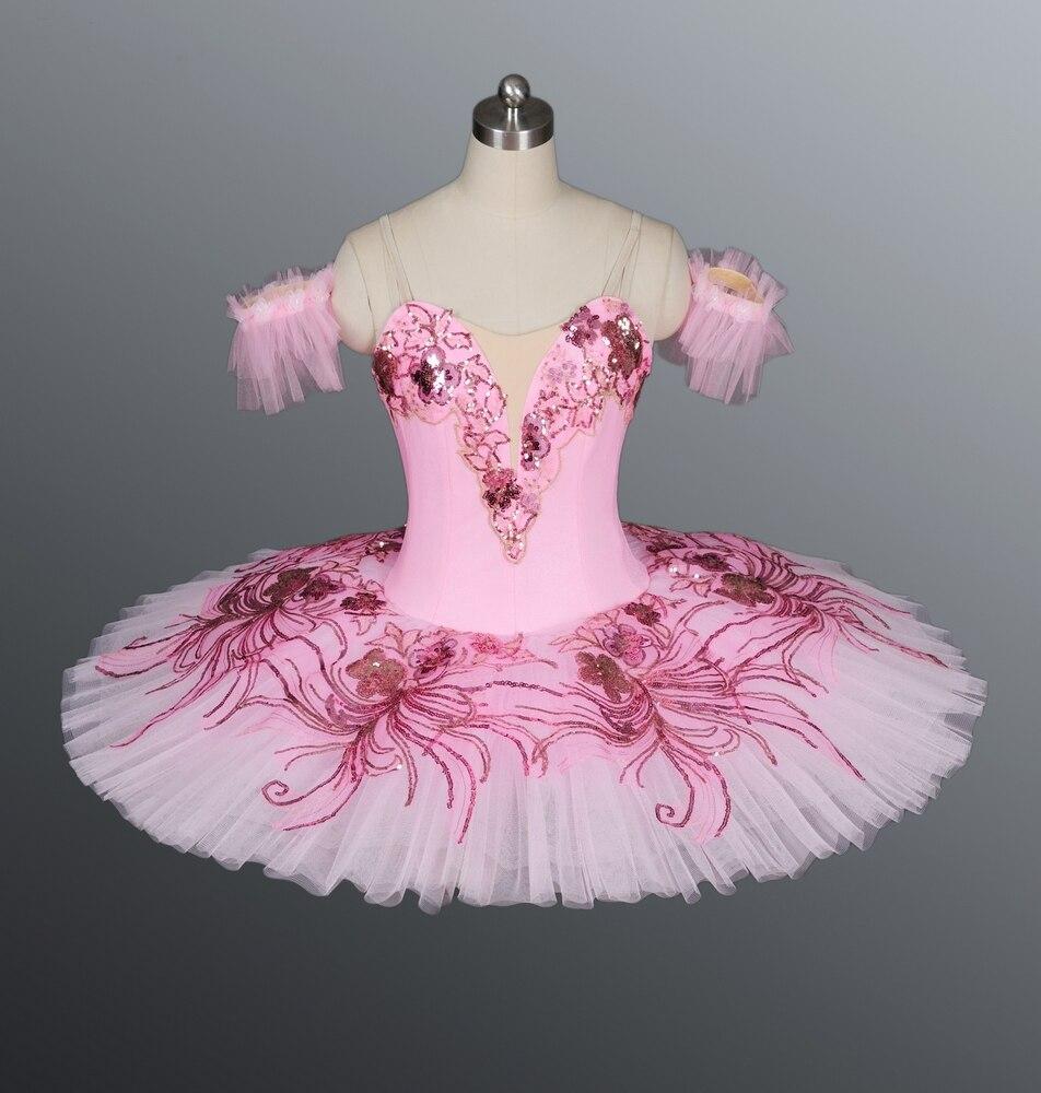 Adulte rose fée casse-noisette tutu filles bleu royal professionnel tutu femmes tutu crêpe belle au bois dormant ballet tutu