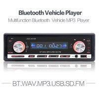 12V In Dash Car Radio FM Receiver Bluetooth Autoradio Auto Stereo Audio MP3 Player Support USB