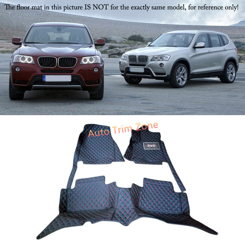 цена Interior Floor Mats & Carpets Foot Pads For BMW X3 E83 2006-2010 онлайн в 2017 году