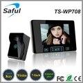 """7 """"TFT Видео Домофон, 2.4 ГГц Цифровой Беспроводной Телефон Двери Системы с 1 Дверной Звонок Монитор Камеры Беспроводной Дверной Звонок бесплатная Доставка"""