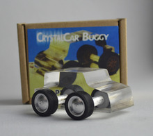 Crystal Car buggy With Box Magic Tricks Funny Close Up Magic Find the Select Card Magie Illusion Gimmick Props Easy To Do Shows