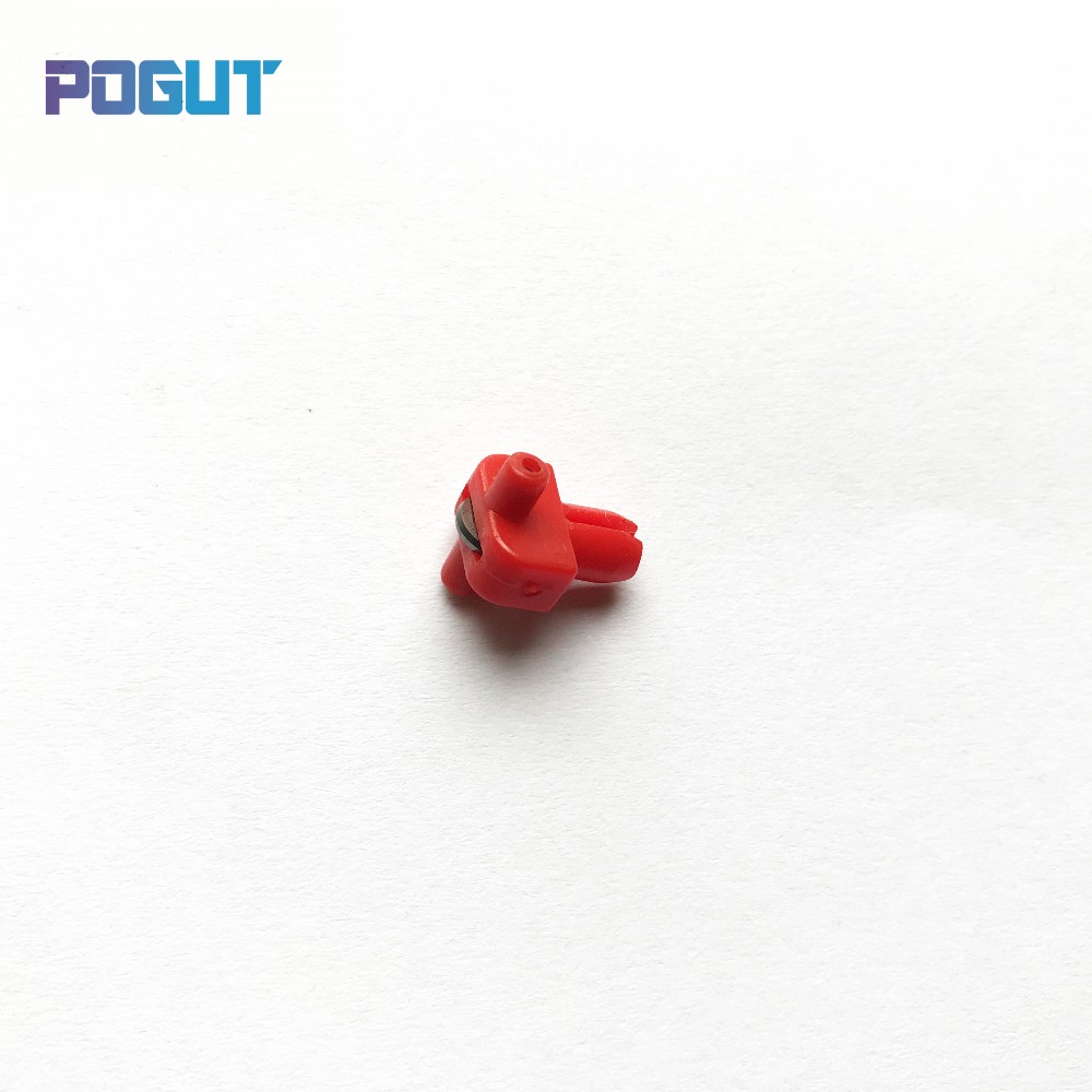 Replacement Cutter Head For Glass CNC Automatic Cutting Machine Red Color 155 Degree