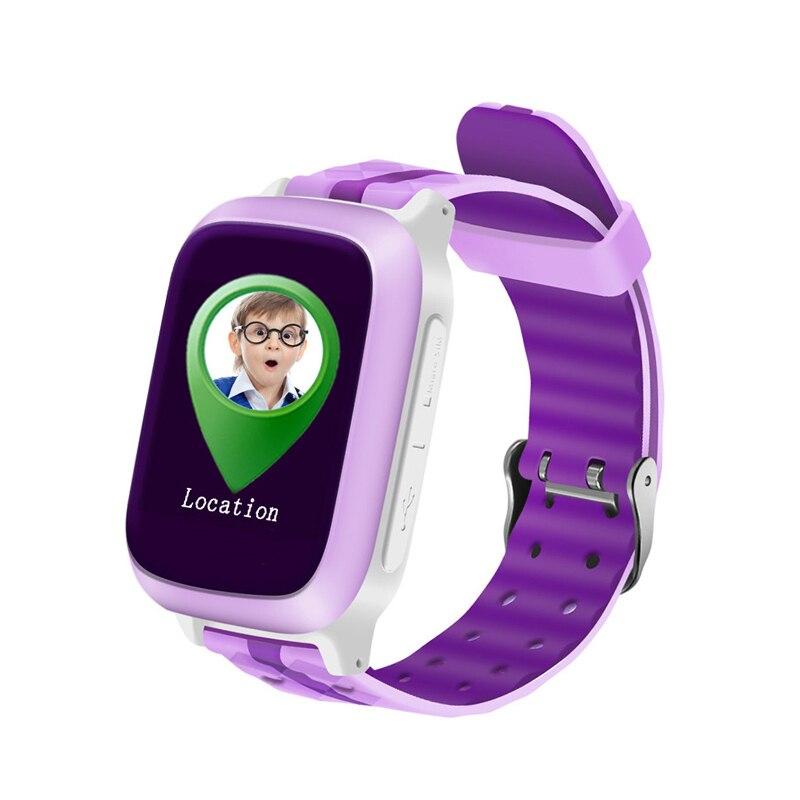 Téléphone intelligent GPS montre enfants enfant montre-bracelet DS18 GSM WiFi localisateur Tracker SOS Anti-perte Smartwatch enfant PK Q80 Q90 V7K Q50