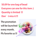 $0.81 Sales Promotion For 20MM 100Pcs/Lot Mix Color ABS Fake Pearl Bead For Handmade Jewelry