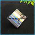Sale Beautiful Defective Rectangle Prism 33*28*2mm Dichroic Prism for Party Home Decoration Art Necklace DIY Design
