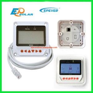 Image 4 - 12 فولت 40A 40amp جهاز تحكم يعمل بالطاقة الشمسية EPEVER Tracer4215BN + درجة الحرارة الاستشعار 12 فولت 24 فولت السيارات نوع مع MT50 البعيد متر