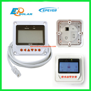 Image 4 - 12 volt 40A 40amp solar controller EPEVER Tracer4215BN+temperature sensor 12v 24v auto type with MT50 remote meter
