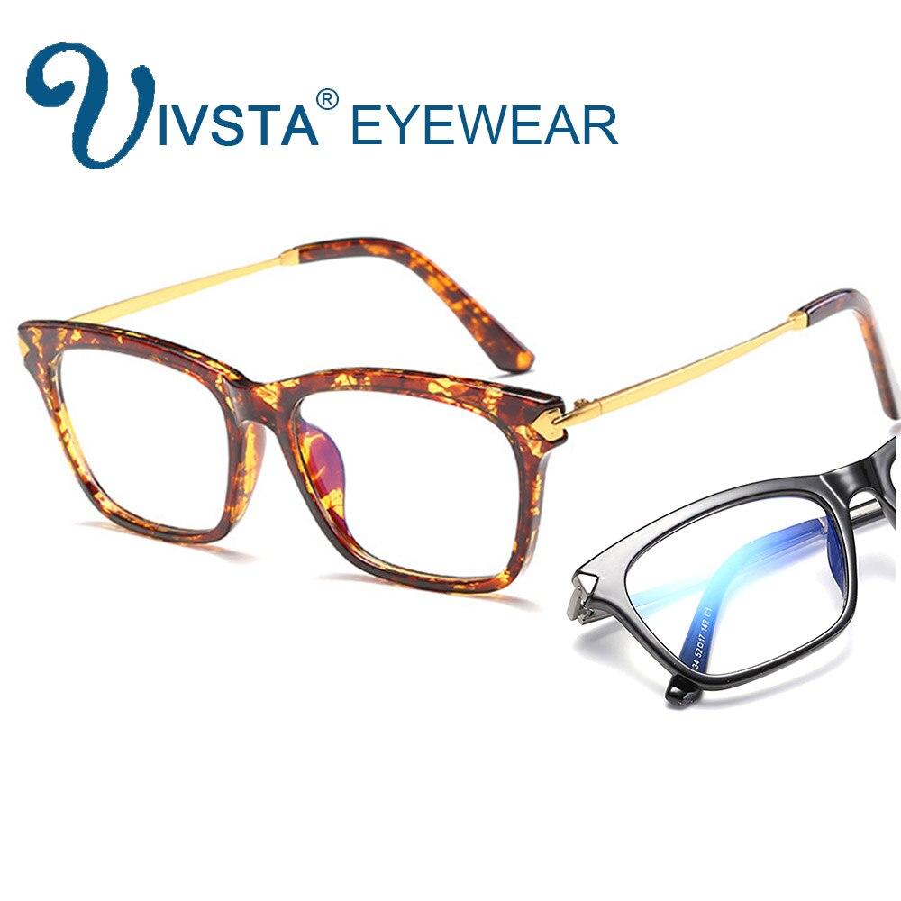 IVSTA TR90 Computer Brille Frauen anti Blau rays leopard rahmen ...