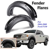 4Pcs Car Rivet Style Side for Fender Mudguard Wheel Flares For Ford F150 2004 2005 2006 2007 2008