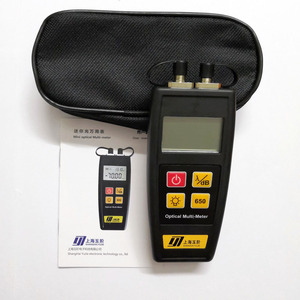 Image 5 - Free Shipping Mini Fiber Tester Optical Power Meter with Visual Fault Locator OPM VFL 50mw 30mW 10mW 1mW Fiber Optic Laser