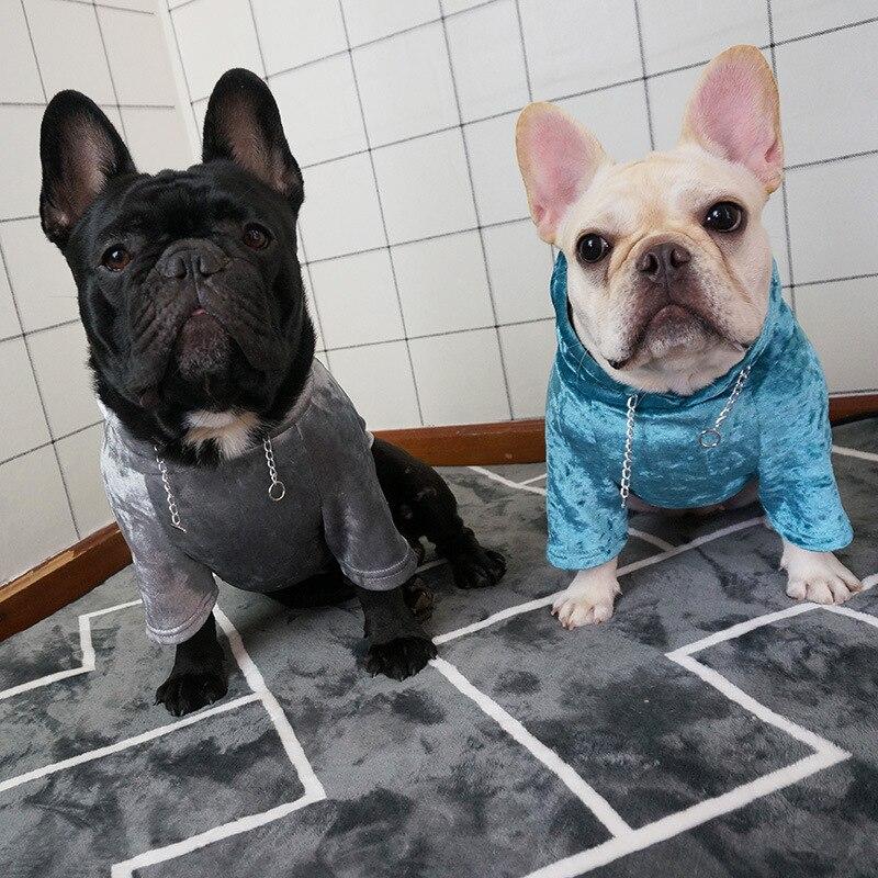 Online Eyedog Pug Clothes French Bulldog Clothing Poodle Schnauzer Dog Winter Pet Coat Hoo Sweatshirt Dropshipping Aliexpress Mobile
