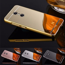 Newest Fashion Luxury Rose Gold Mirror Cases For Lenovo K6