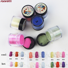 Acrylic Powder Chameleon Thermal Acrilico Nails Acryl Poudre Acrylique Pour Ongle Temperature Change Polvo Nail Dipping Nagels все цены