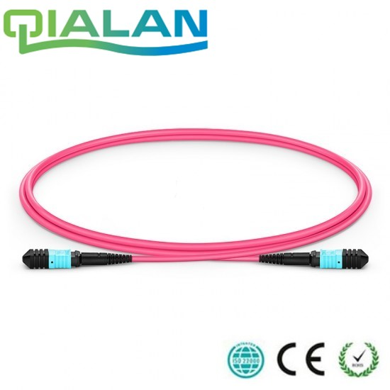 10m MTP MPO Fiber Patch Cable OM4 UPC jumper Female to Female 12 Cores Patch Cord multimode Trunk Cable10m MTP MPO Fiber Patch Cable OM4 UPC jumper Female to Female 12 Cores Patch Cord multimode Trunk Cable