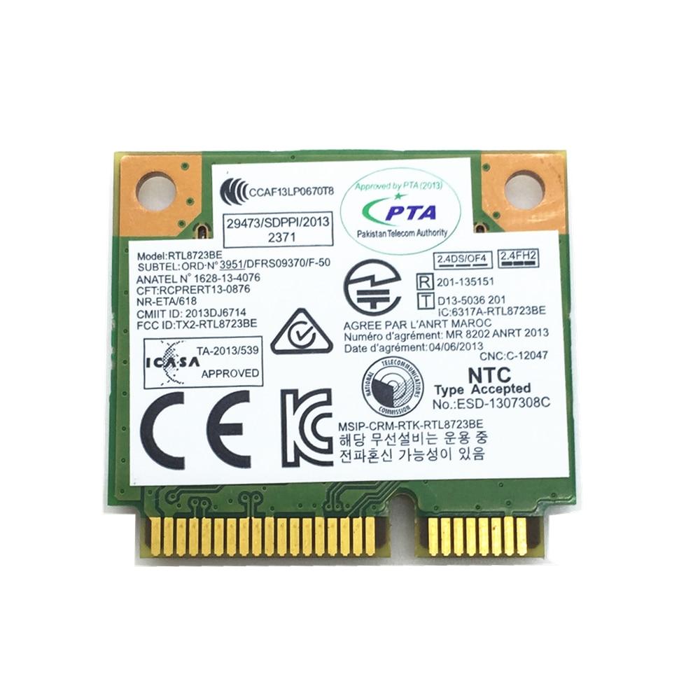 realtek rtl8723be 802.11 bgn wifi adapter