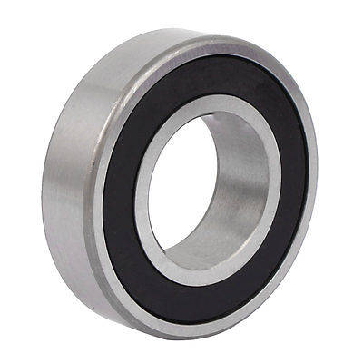 2RS6207 73mm Outside Dia 35mm Inside Dia Rubber Sealed Deep Groove Ball Bearing 10pcs 75mm outside dia 2mm thickness industrial rubber o rings seals