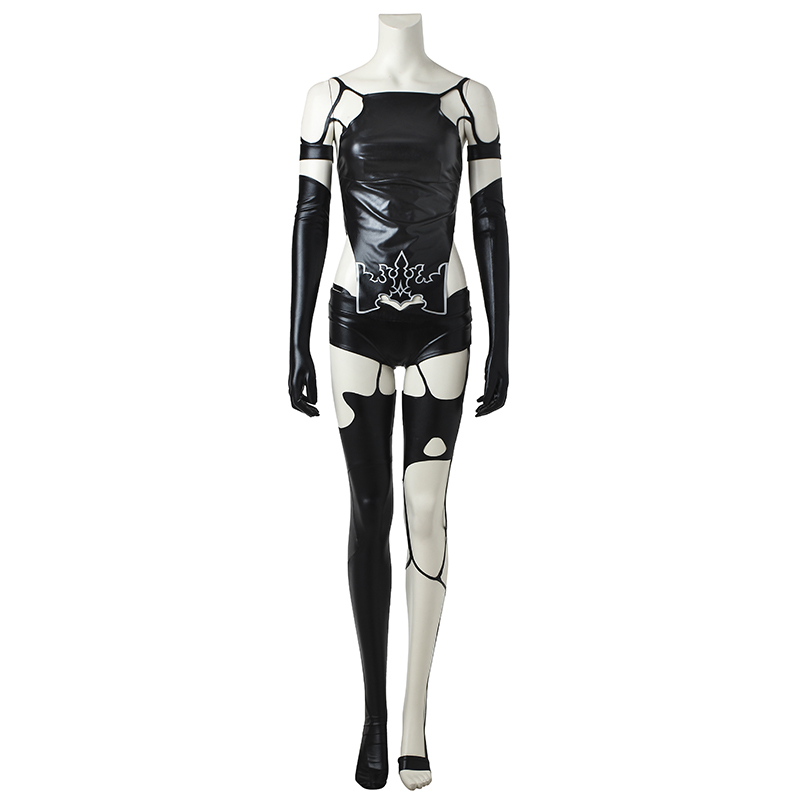 NieR:Automata A2 Cosplay Costume YoRHa Type A No. 2 Cosplay Outfit Hot Game Custom Made Halloween Party Costume For Men Adult