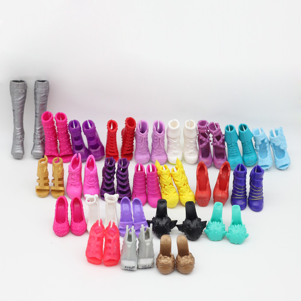 NEW Multi-styles Shoes For Monster high Dolls Fashionable Doll Accessories boots et019 500pairs lot wholesale high quality high heel shoes for 30cm dolls mixed styles sandals slippers 10pairs pack doll shoes pack