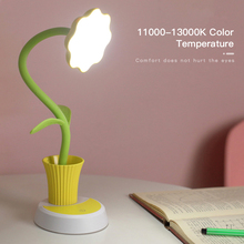 Desk-Lamp Pen-Holder Learning-Eye-Protection-Lamp LED with Children Reading 2-In-1/usb-Chargeable