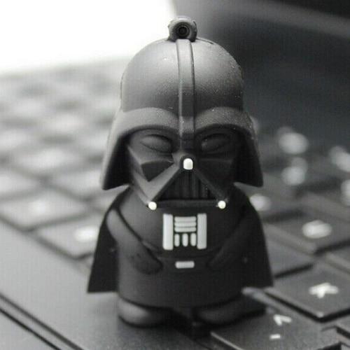 Fashion Star War Darth Vader Genuine 8gb/16gb/32gb/64gb Mini Usb 2.0 Memory Stick Thumb Drive Pendrive Flash Drives Stick Key