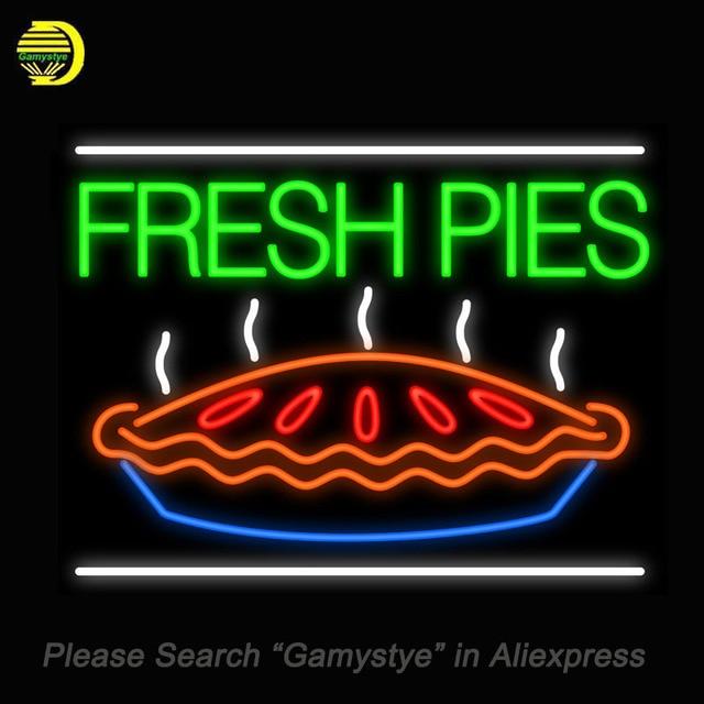 neon teken voor custom neon venster borden kopen verse pies restaurant versieren verlichting voor koop custom