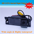 Wired Car reverse Camera ! Night vision CCD backup rear view car parking system for Hyundai IX35 /For Hyundai Tucson