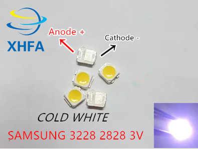 100 Pcs untuk Samsung 2828 LED Lampu Latar TT321A 1.5 W-3 W dengan Zener 3V 3228 2828 Keren putih LCD Lampu Latar untuk TV Aplikasi TV