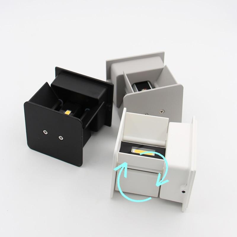 Led Pencahayaan Outdoor, IP65 Adjustable Waterproof Cube Lampu - Pencahayaan luar ruang - Foto 6