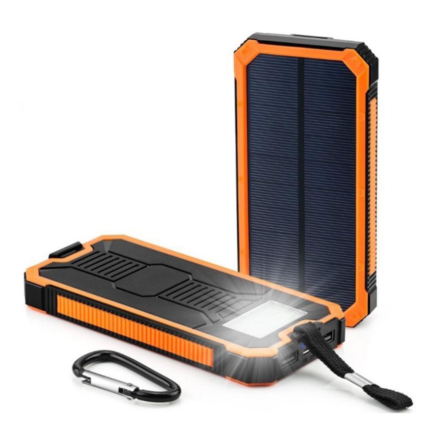Carprie Neue LED Dual USB Ports Solarpanel Energienbank Fall ladegerät DIY Kits Box für Samsung S8 Xiaomi 18Feb01 Drop Ship F