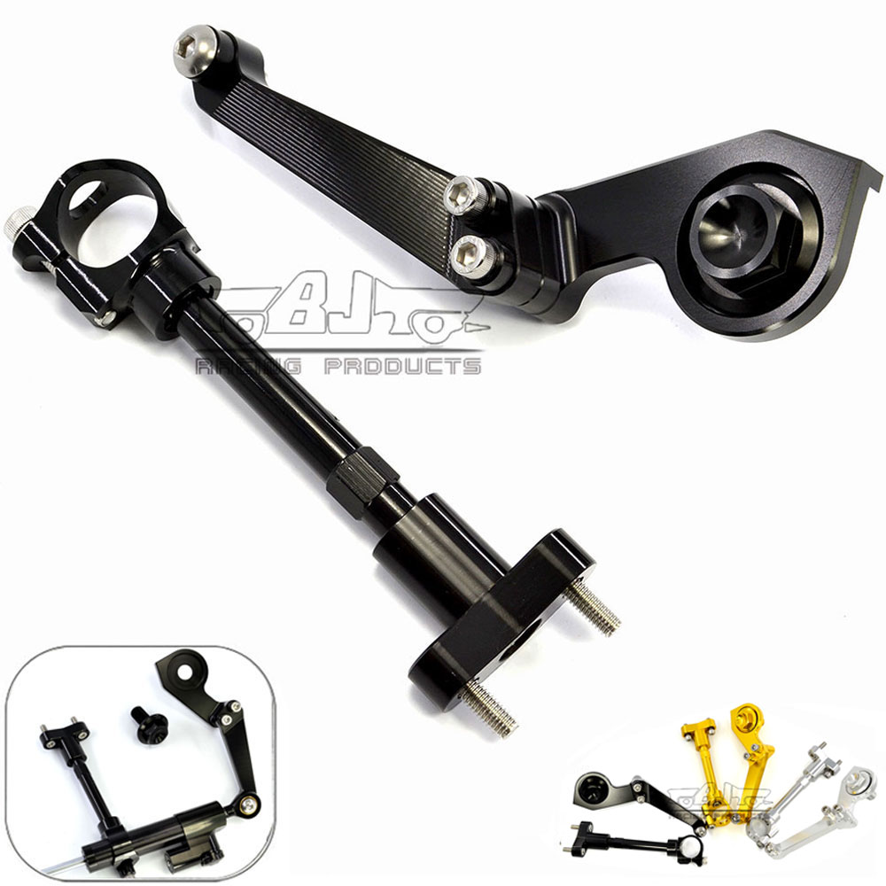 Bj moto moto rcycle moto YZF R3 ABS 2018 Volant Ajustable Stabiliser Amortisseur Support Pour Yamaha YZF R3 YZFR3 2015 2016 2017 2018