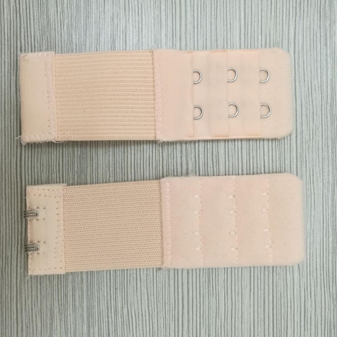 4Pcs Bra Extender 2 Hook Ladies Soft Bra Extension Strap Underwear Strapless Adjustable Belt Buckle Underwear