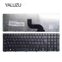 YALUZU Французская клавиатура для Acer Aspire 5560 5560G 5552G 7741G 7741Z 7745G 7745Z 5740 5536G 5536 5738g 5738 5810T FR AZERTY