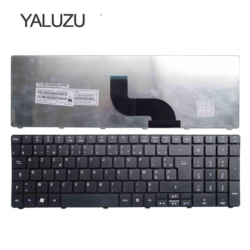 YALUZU French Keyboard For Acer Aspire 5560 5560G 5552G 7741G 7741Z 7745G 7745Z 5740 5536 5536G 5738 5738g 5810 5810T FR AZERTY