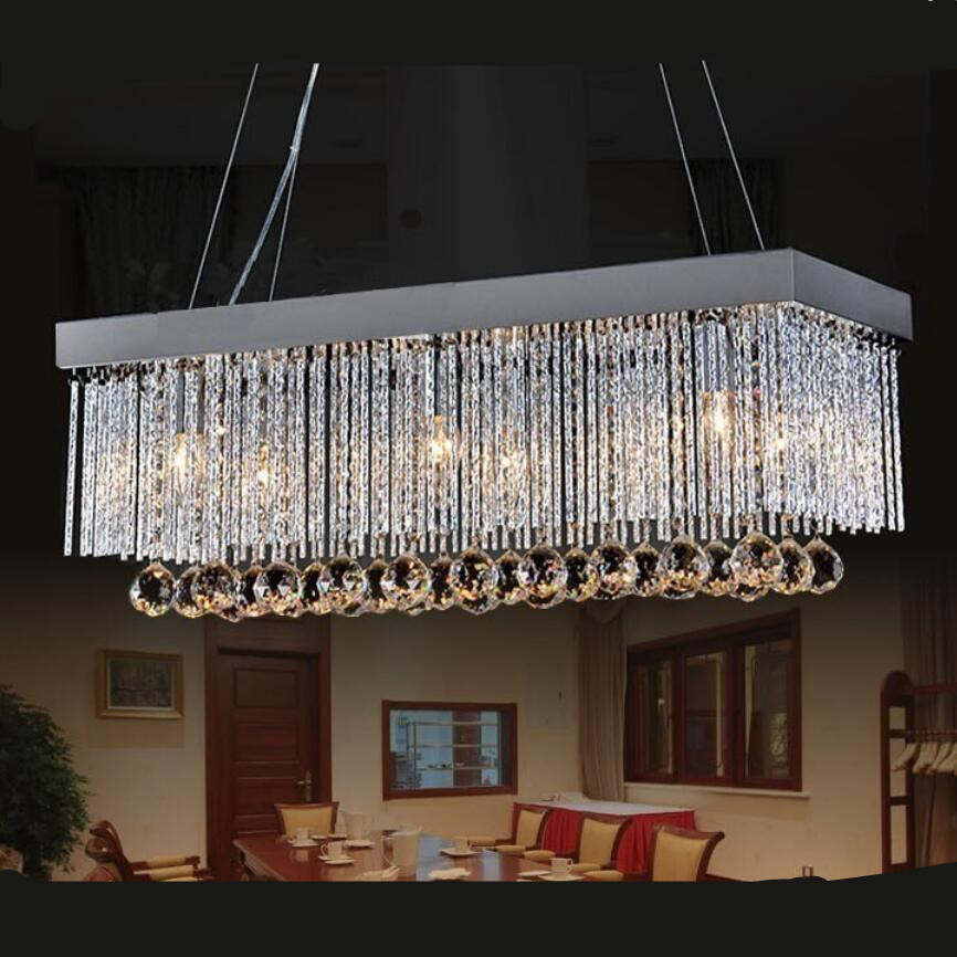 Modern Chandeliers Contemporary Dining Room: Modern Led Chandelier Led Lamps Living Room Dining Room K9