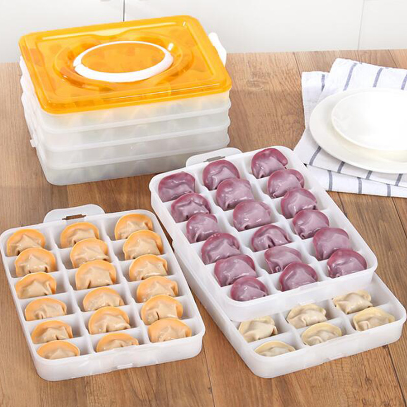 4 layers Durable hot snack font b Food b font Storage box home kitchen tools Convenient