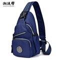 New Arrival Waterproof Nylon Women and Men Messenger Bags Travel Shoulder Bag Women Chest Bags CLB15-201