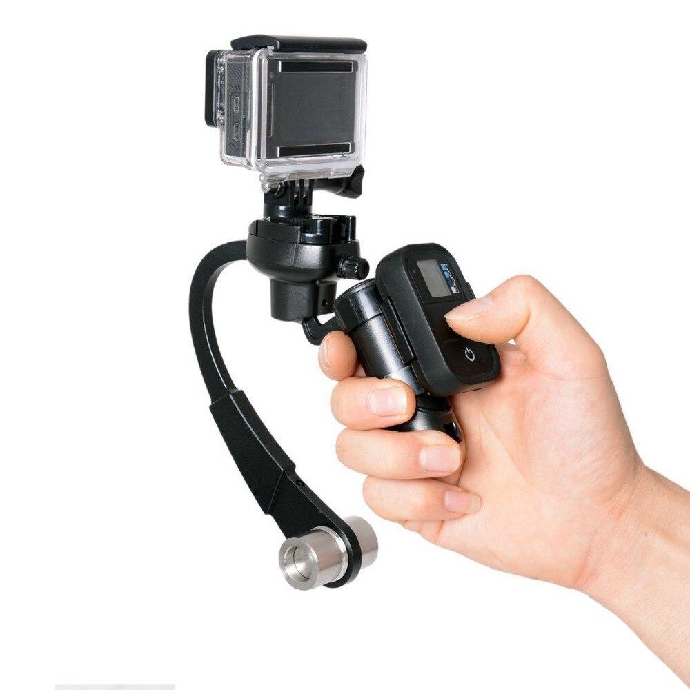 Профессиональный мини Ручной Стабилизатор камеры видео Steadicam Gimbal для Gopro go pro Hero 3 + 4 экшн-камеры
