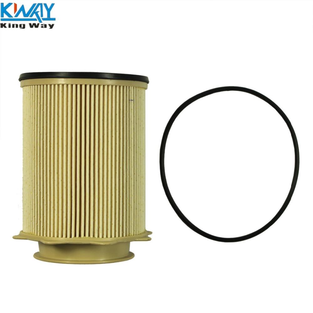 free shipping king way for dodge ram 6 7 diesel fuel filter kit 68157291aa 68065608aa 2010 [ 1000 x 1000 Pixel ]