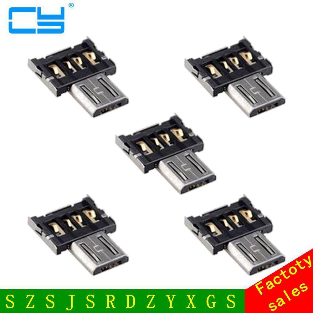 5 шт. ультра мини DM Micro USB 5pin OTG разъем адаптера для сотового телефона Планшеты и usb-кабель и flash диск