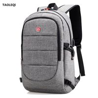 Multifunction USB Charging Men 15 17inch Laptop Backpacks For Teenager Fashion Male Mochila Leisure Travel Backpack