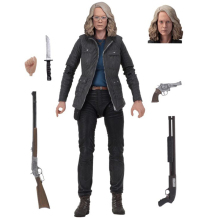 Laurie Strode 18cm NECA Halloween Final PVC Action Figure Collectible Modelo Boneca Brinquedos de Presente