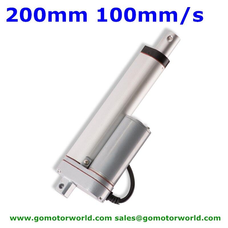 24V Motor Electric Putter Linearantrieb 24V-200mm-1500N 12V