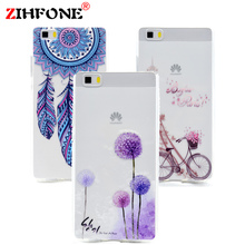 Soft TPU Case For Huawei Ascend P8 Lite New Fashion Cool Design Soft Silicone Case Back Cover For Huawei P8 Lite Phone Cases