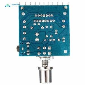 Image 2 - AC/DC 12V TDA7297 2x15W Digital Audio Amplifier DIY Kit Dual Channel Module